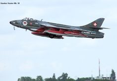 Swiss Air, Air Show, Luftwaffe, Hunters, Switzerland, Planes, Air Force, Fighter Jets, Aviation