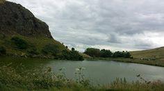 Dunsapie loch , top loch at Arthur Seat, Edinburgh