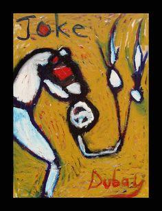 Kelli Dubay Original Fine Art Oil Abstract by Megalomaniart, $800.00