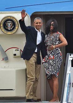 Vea los 'looks' con los que Michelle Obama deslumbró en su visita a Cuba y Argentina | EL PAIS