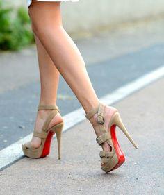 Christian Louboutin heels via http://www.theblondesalad.com http://www.athlekinetix.com   $118  Christian Louboutin heels for women fashion style. high heels,heels for women 2015