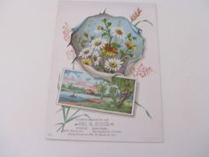 Vintage Advertising Trade Card -Compliments of Geo H Couch- Fine Shoes-Antique Ephemera- Bridgeport Connecticut by ScrapPantry, $4.99 USD