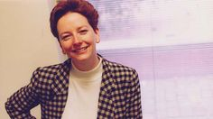 Prime Minister Julia Gillard in the Slater and Gordon office in 1994. - The very opposite of Grunge, and the check jacket is really off-putting.