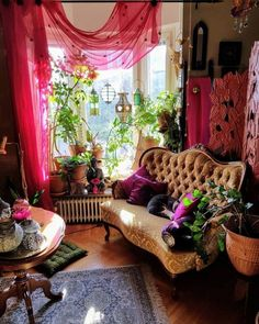 Bohemian Latest And Stylish Home decor Design And Life Style Ideas Bohemian Interior, Bohemian Decor, Bohemian Living, Living Room Decor, Bedroom Decor, Estilo Hippie, Indie Room, Aesthetic Room Decor, Home And Deco