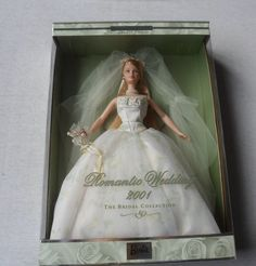 AmazonSmile: Romantic Wedding 2001 Bridal Collection Barbie Doll: Toys & Games