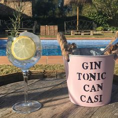 Hoy nos hemos levantado con ganas de Gin Tonic #Gintonic#cancasi #costabrava #hotel