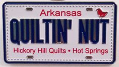 @Hickory Hills Quilts #rowbyrowexperience #pinpeddlers Row By Row Experience, Hickory Hills, License Plates, Hot Springs, The Row, Quilting, Cars, Sewing, Car License Plates