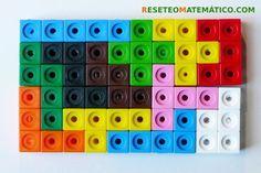 Pentominó de Policubos formando un rectángulo de 6 x 10