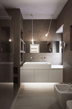 J Apartment, Rome, 2016   Carola Vannini Office Bathroom, Bathroom Spa,  Bathroom