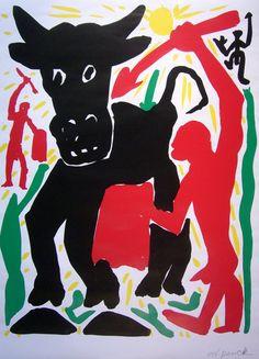 A.R. Penck (dutch, b.1939) | painter, grafiker, jazz-drummer