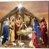 Holy family and the Three Wise Men luncheon paper napkins. Details: Set of 20 lunch paper napkins x (Open 13 x Three-ply, bleached without Chlorine Made in The Netherlands Christmas Nativity Scene, Christmas Scenes, Noel Christmas, Vintage Christmas Cards, Christmas Pictures, Christmas Greetings, The Nativity, Nativity Scenes, Nativity Scene Pictures
