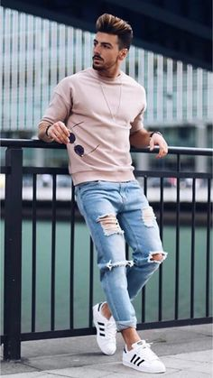 Modest Spring Outfits For Men Street Style 30 Tomboy Outfits, Mode Outfits, Casual Outfits, Fashion Outfits, Fashion Ideas, Fashion Styles, Hipster Outfits, Fashion Tips, Fashion Trends