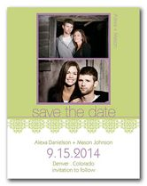 A twist of lime- photo save the date