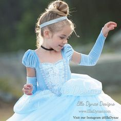 READY TO SHIP Size 5/7 Cinderella Costume Classic Princess