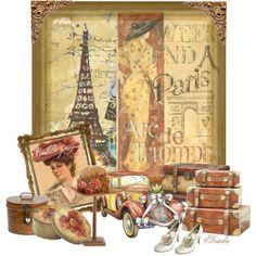 """Bonjour Paris!!"" by elonda on Polyvore"