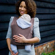 Close Parent Caboo Carrier Taupe