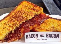 "Get over your Hump Day struggles @OtG: 5th & Minna delivering the ""Bacon Grilled Cheese"" from @BaconBaconSF  11-2pm"