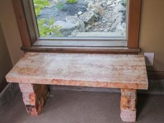 Build an Upcycled Stone Bench   how-tos   DIY