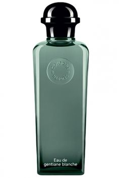 Hermès Eau de Gentiane Blanche--a unisex fragrance made of musk, iris, frankincense, and gentian that smells like pepper, earth, and bruised blades of grass after a rainstorm.