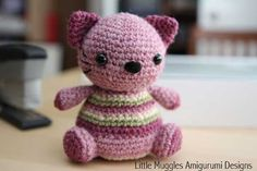 Download Violet Kitty Amigurumi Pattern (FREE)