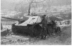 Kozel Hq Co 254th Inf Kaysersburg, France Jan 45