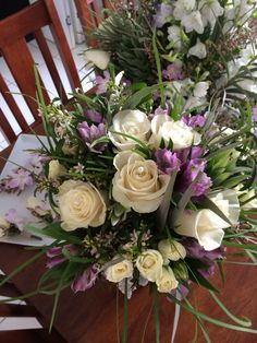 'Flowers by Lynda' Final product  Brides bouquet