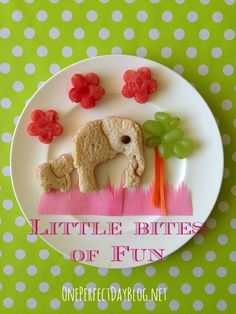 """""""Little Bites of Fun"""". Quick, simple (and completely adorable) kids meal ideas shared each week in this new series."""
