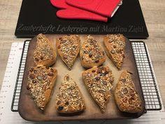 Zauberhafte Leckereien mit Martina Ziehl: Fitnessbrötchen auf dem Zauberstein gebacken