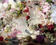 Isabelle Menin #flowers #beauty #collage