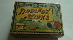 Antique Round Game Tiddledy Winks, McLoughlin Bros, Circa late 1800's | eBay