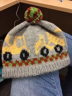 Ravelry: Front End Loader & Dump Trucks Hat pattern by Lynne Ulicki Boys Knitting Patterns Free, Knitting Help, Baby Patterns, Dump Trucks, Ravelry, Knit Beanie, Knitted Hats, Boy Or Girl, Free Pattern