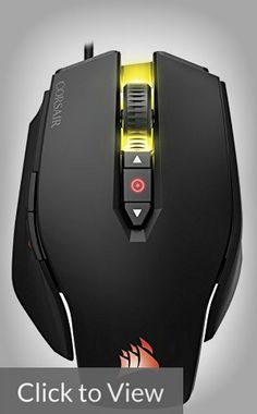 08b69e2bd0b Corsair Pro RGB Gaming Mouse with 12000 DPI Sensor, 8 Programmable Buttons  and