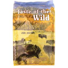 Taste of the Wild Dry Dog Food, High Prairie Canine Formual with Roasted Bison and Venison, 30 lb bag, 2-Pack ** Read more reviews of the product by visiting the link on the image. (This is an affiliate link and I receive a commission for the sales)
