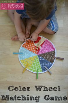 Craftaholics Anonymous® | An idea for learning colors! DIY this wheel with an easy sew tutorial.