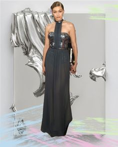 Trend Report: Manus x Machina in your Closet - Metallic dress by @versaceofficial