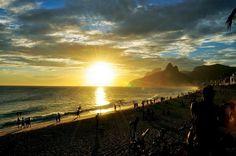 Fim de tarde incrível no Rio!
