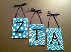 Easy to Make #Sorority Letters by leanna