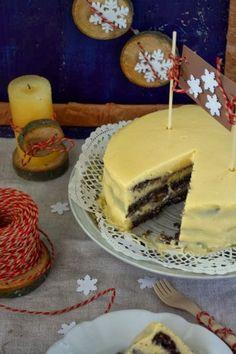 Colors in the Kitchen: Citromkrémes máktorta liszt nélkül (gluténmentes) Paleo, Sweets, Baking, Ethnic Recipes, Fitt, Cook, Gummi Candy, Candy, Bakken