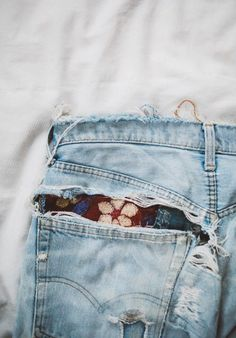 How To Save Your Distressed Denim