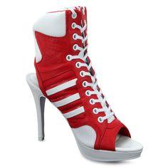 65252ee7413c Adidas Women s Originals Jeremy Scott Js High Heel Leather Shoes