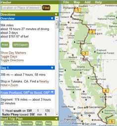 This trip planner helps you find sites along the way on your road trips...will be great for spring on all my weekend getaways and adventures!!  May even use it in Pitts/WV when I'm there again in a couple weeks!!  Weeee!!!