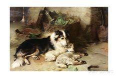 Motherless: the Shepherd's Pet Gicléedruk van Walter Hunt bij AllPosters.nl