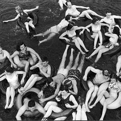 In July 1941 LIFE magazine took its readers on a floating party down the Apple…