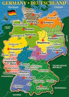 germany map - Google Search