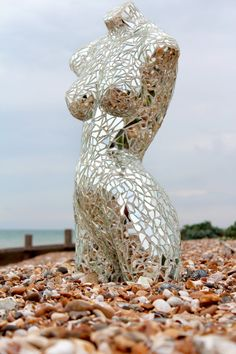 Mirror Mannequin mosaic by Mirrorquin on Etsy, £250.00