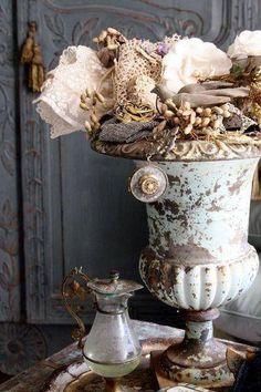 Cement urns