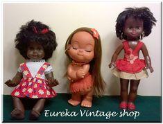 3 εξωτικές κούκλες από την δεκαετία 1970's Dolls For Sale, Vintage Dolls, Vintage Shops, Greek, Christmas Ornaments, Holiday Decor, Antique Dolls, Greek Language, Christmas Jewelry