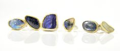 Artisan jewelry that is both delicate and striking, made by hand in Berkeley, California and Seattle, Washington. Artisan Jewelry, Gemstone Rings, Delicate, Gemstones, Seattle, Washington, Handmade, Color, Fashion