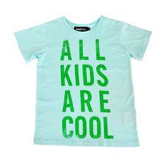 Bandit Kids All Kids Are Cool Green www.sodashop.com.au
