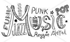Music doodles by Oleg Nekrasov